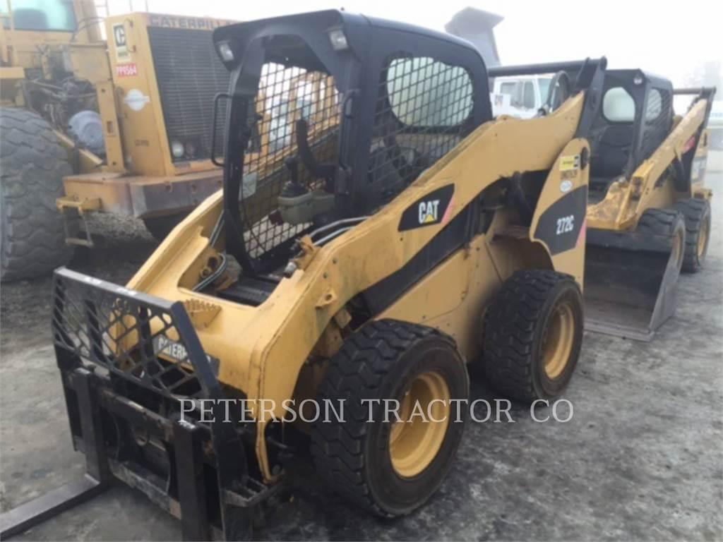 Caterpillar 272C, Skid Steer Loaders, Construction