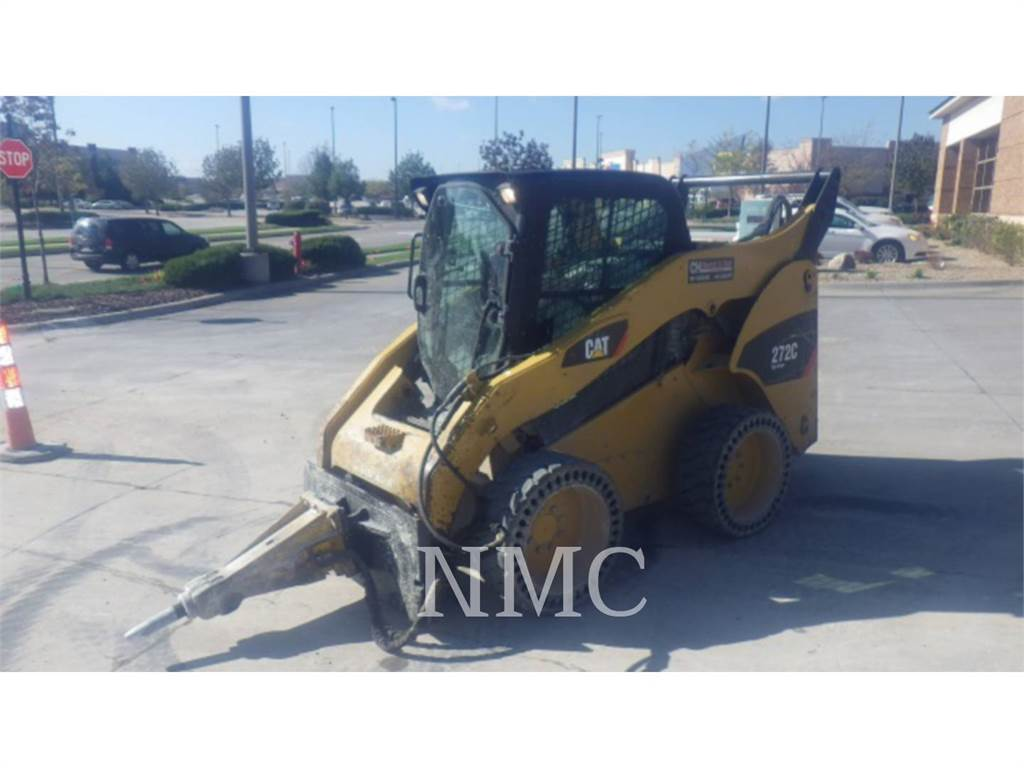 Caterpillar 272C, Skid Steer Loaders, Construction