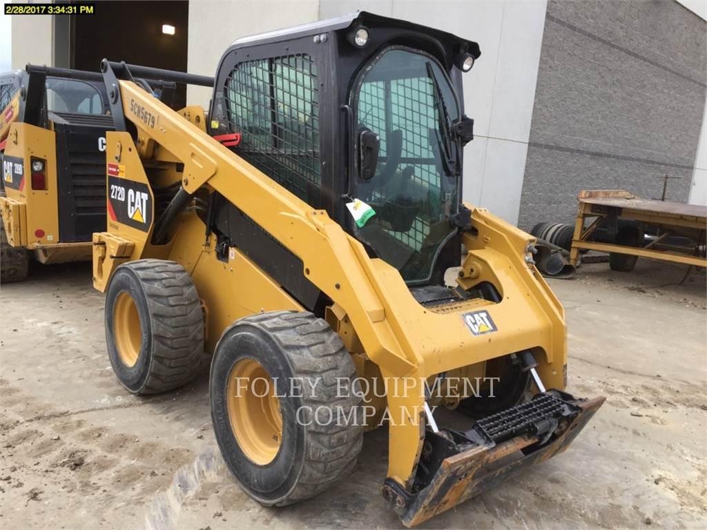 Caterpillar 272D, Minicargadoras, Construcción