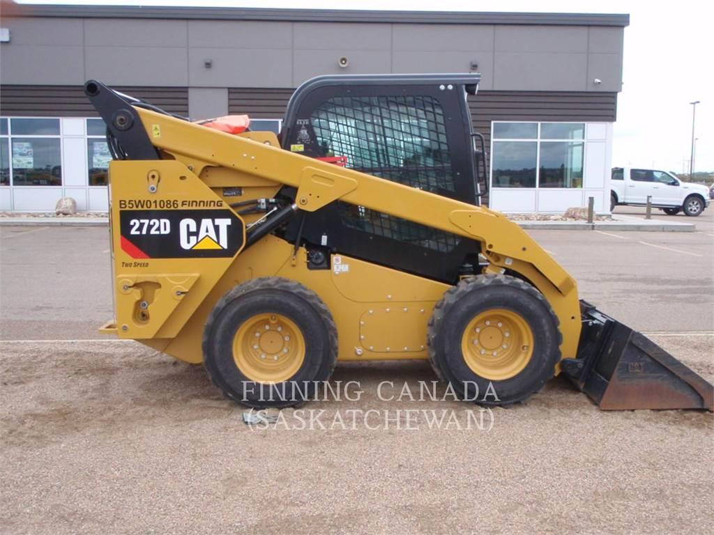 Caterpillar 272D, Mini ładowarki, Sprzęt budowlany