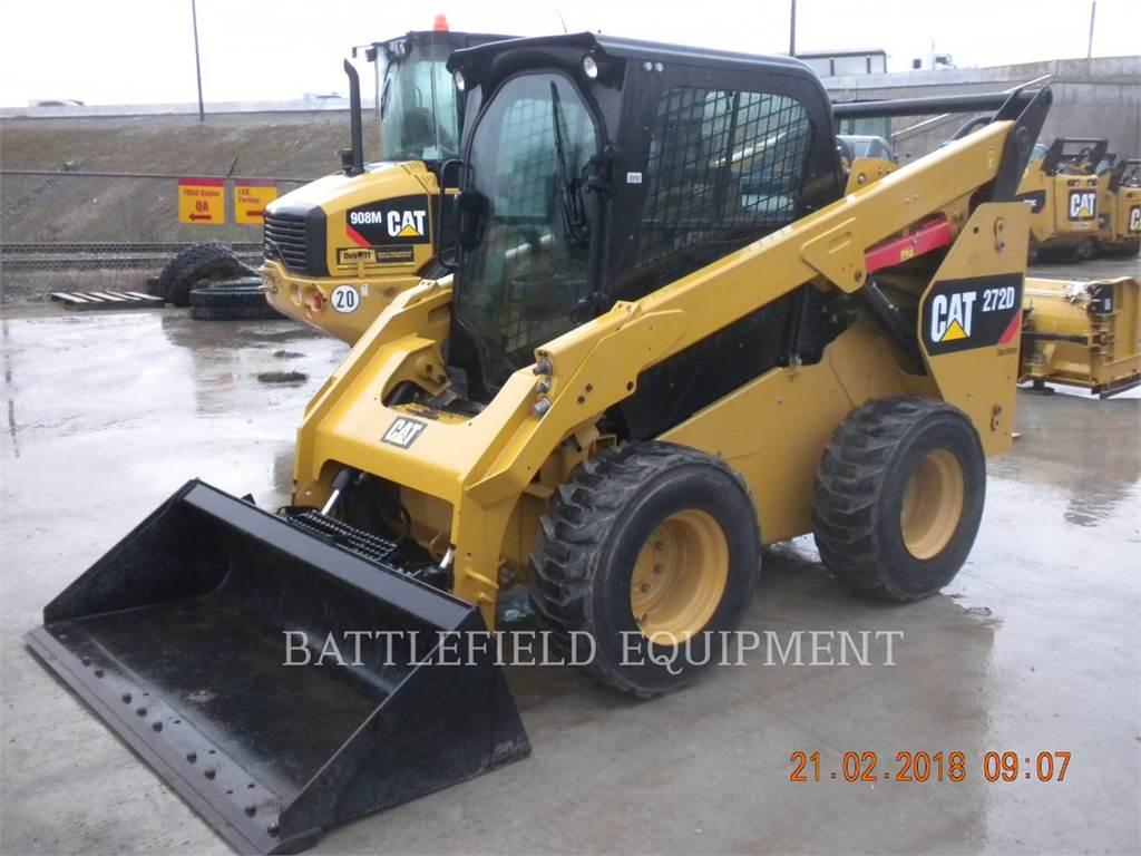 Caterpillar 272D, Skid Steer Loaders, Construction