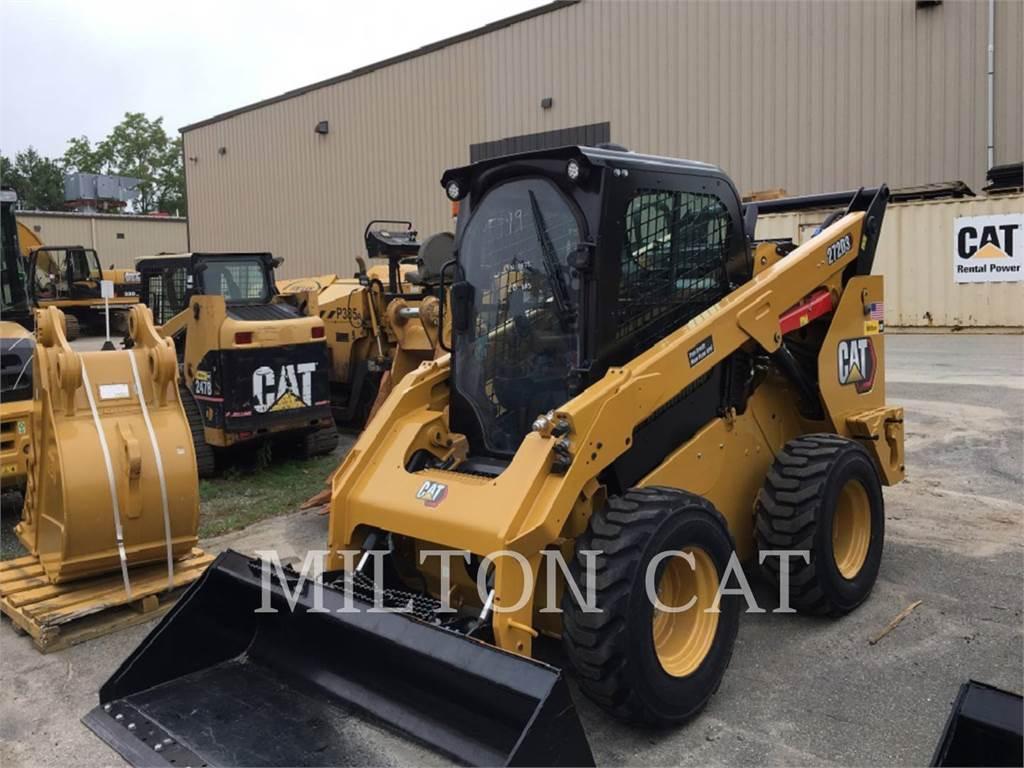 Caterpillar 272D 3, Carregadoras de direcção deslizante, Equipamentos Construção
