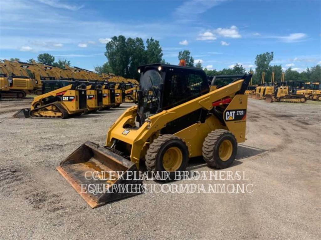 Caterpillar 272D HF, Skid Steer Loaders, Construction