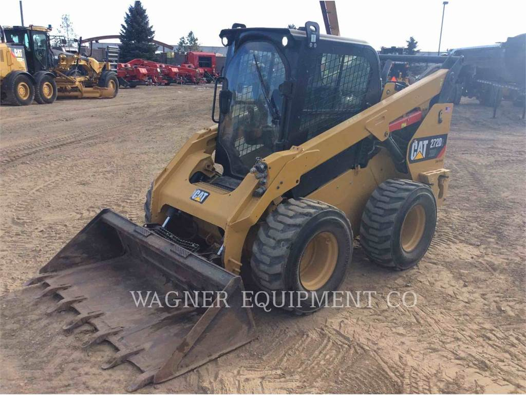 Caterpillar 272D XHPHF, Skid Steer Loaders, Construction