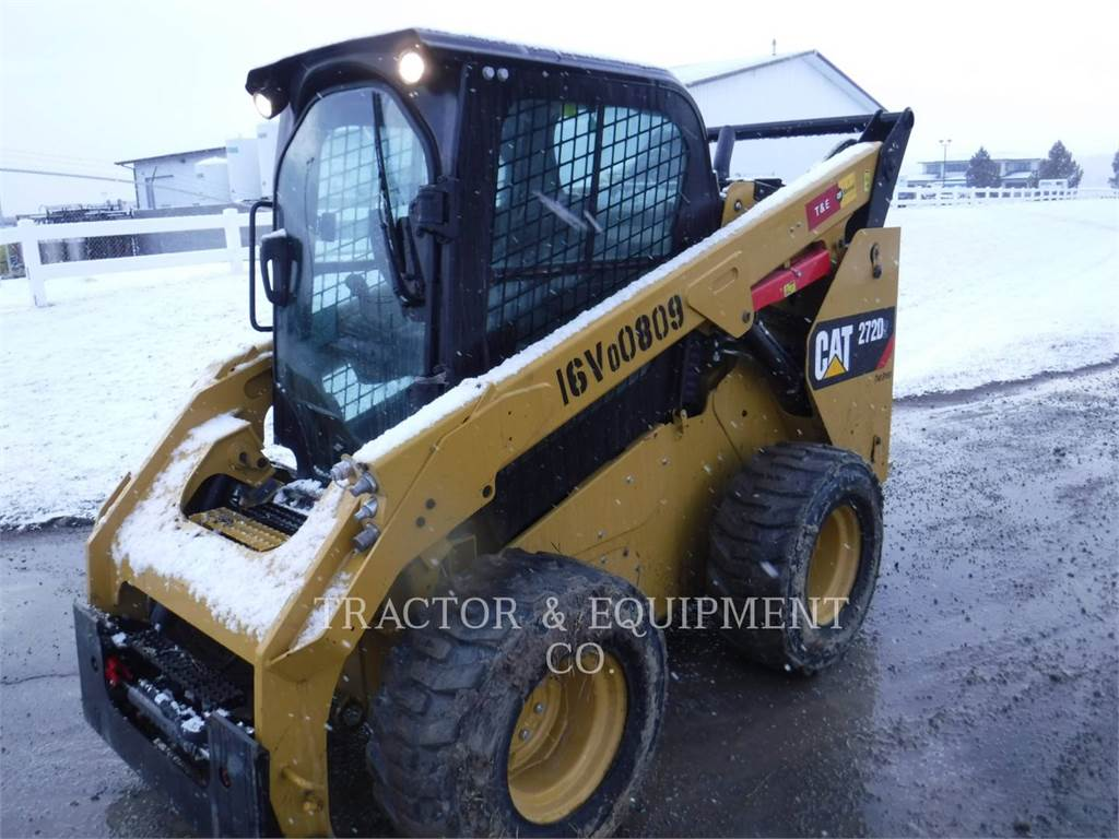 Caterpillar 272D2, Kompaktlader, Bau-Und Bergbauausrüstung