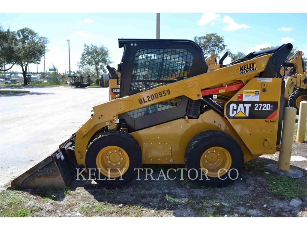 Caterpillar 272D2, Chargeuse compacte, Équipement De Construction