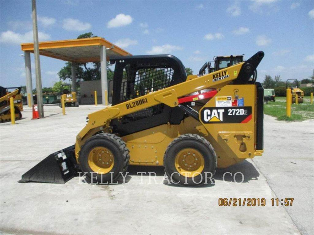 Caterpillar 272D2, Skid Steer Loaders, Construction