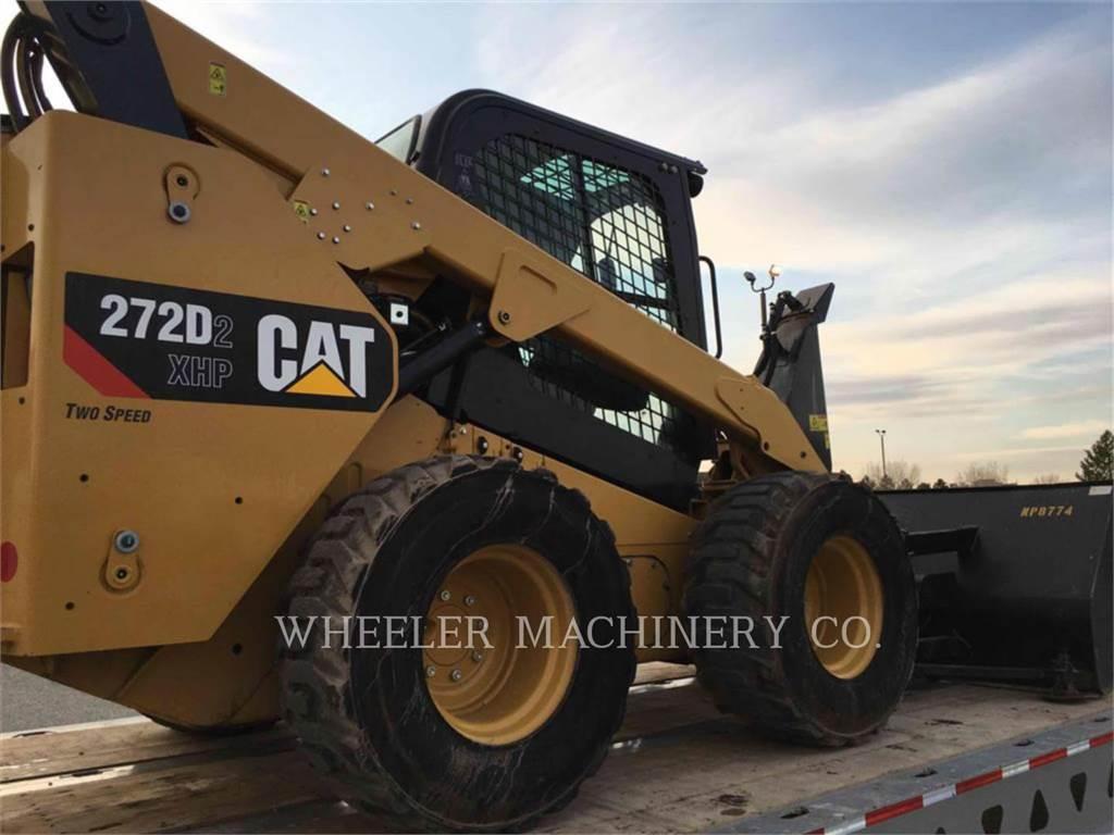 Caterpillar 272D2 C3H2、スキッドステアローダー、建設