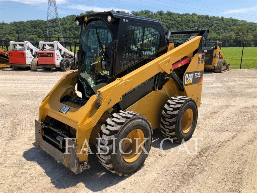 Caterpillar 272D2 C3H2, Skid Steer Loaders, Construction