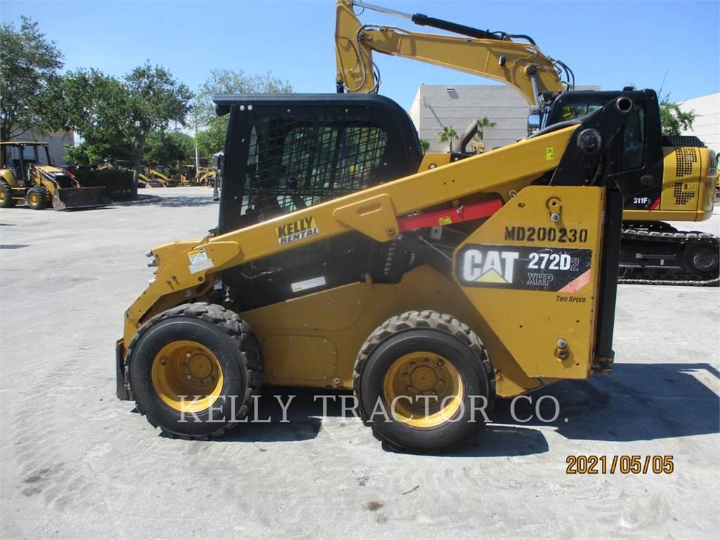 Caterpillar 272D2XHP, Chargeuse compacte, Équipement De Construction
