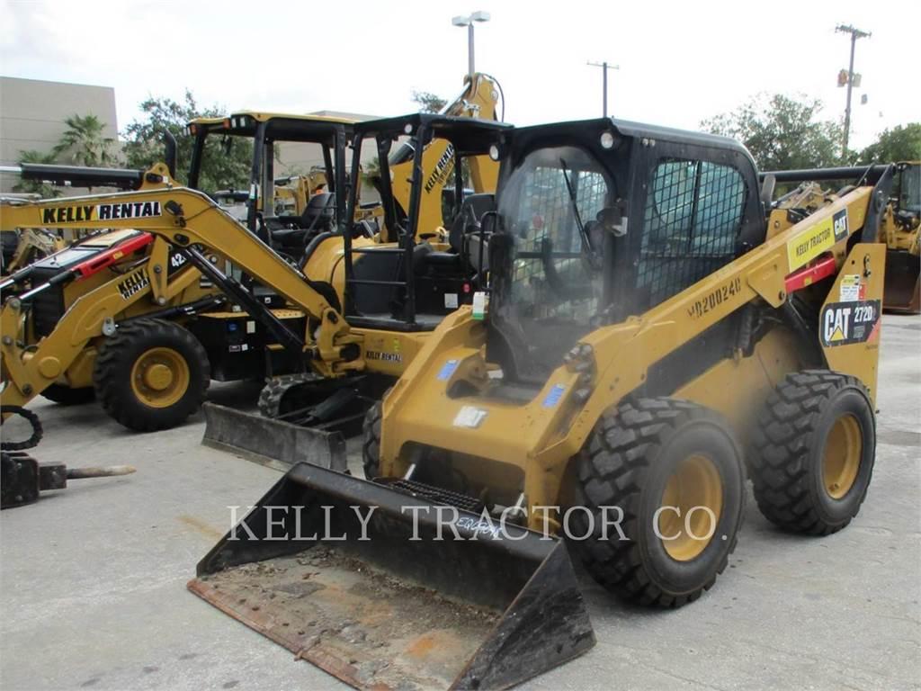 Caterpillar 272D2XHP、スキッドステアローダー、建設