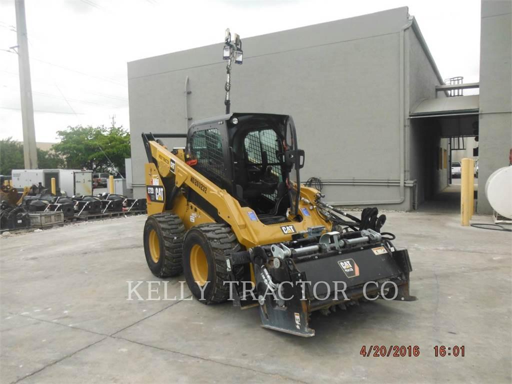 Caterpillar 272D2XHP, Mini incarcator, Constructii