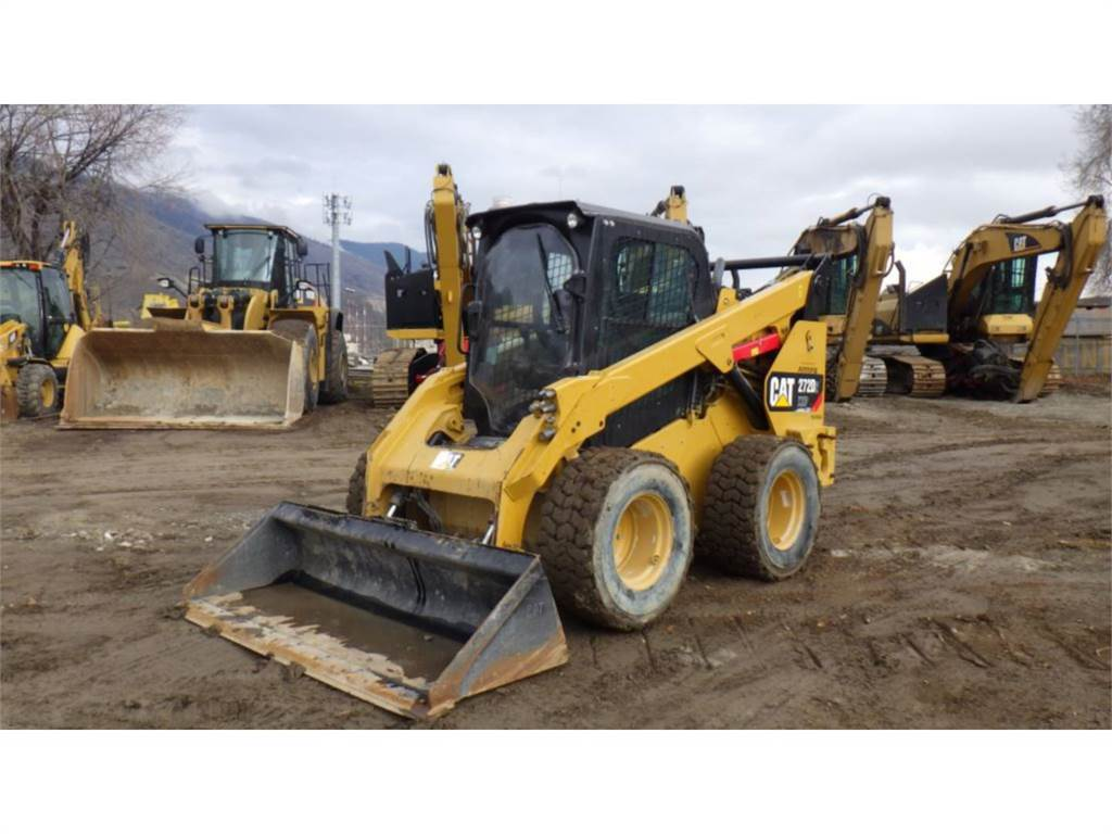 Caterpillar 272D2XHP, Skid Steer Loaders, Construction