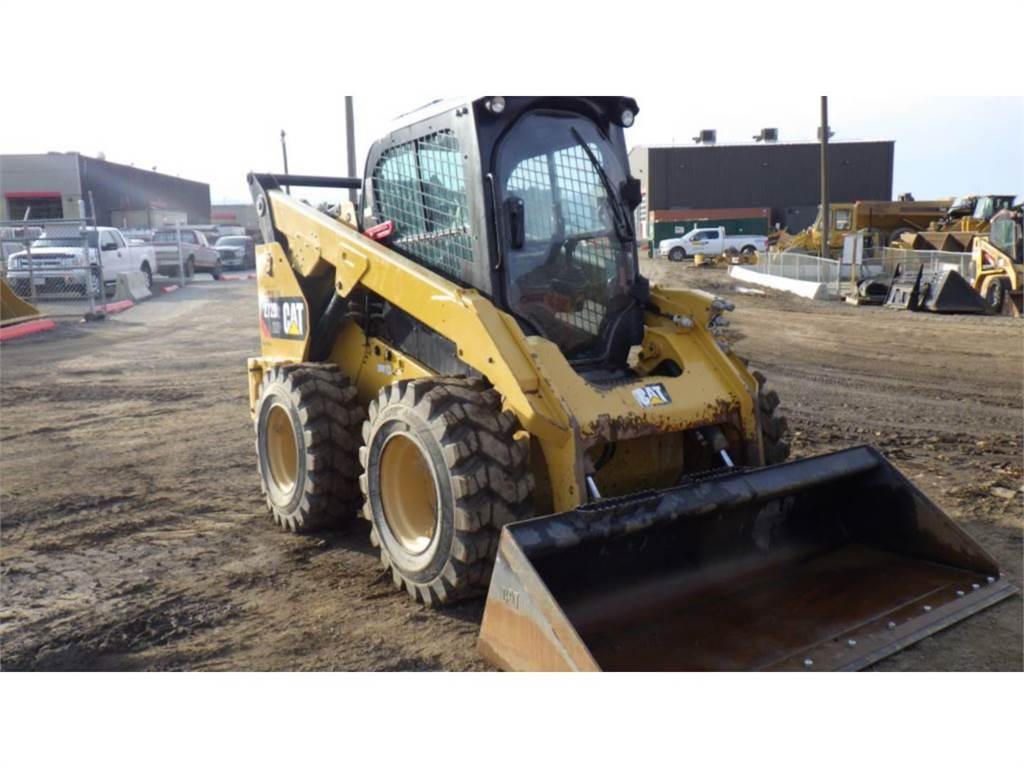 Caterpillar 272D2XHP, Skid Steer Loaders, Construction