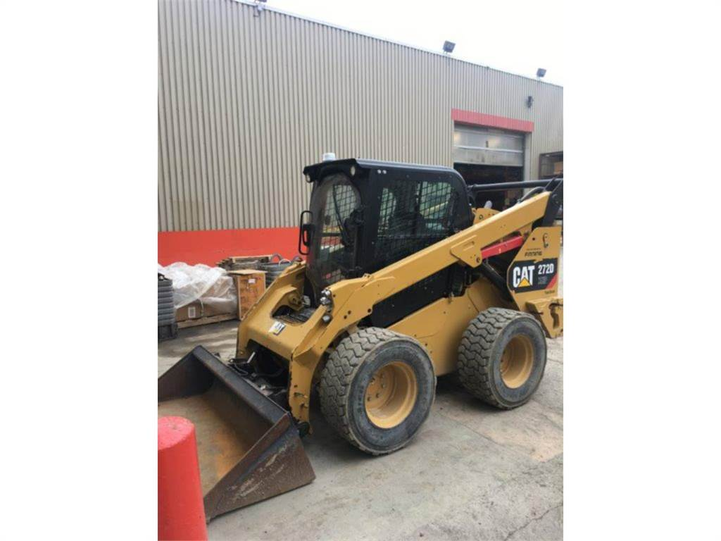Caterpillar 272DXHP, Skid Steer Loaders, Construction