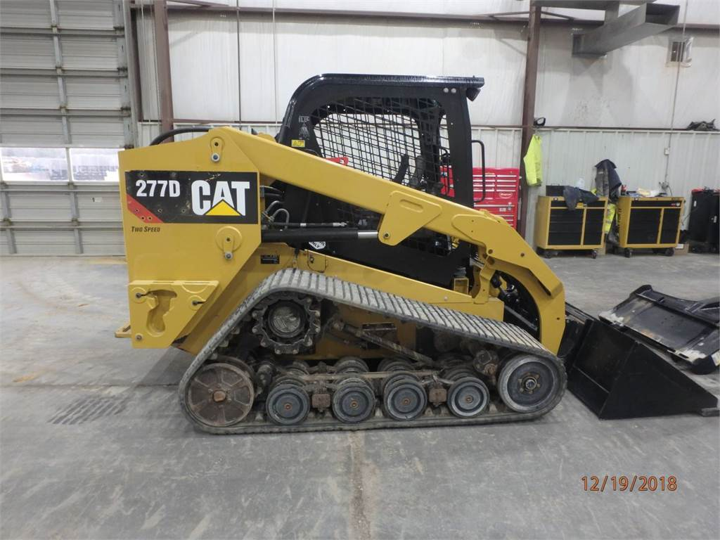 Caterpillar 277 D, Skid Steer Loaders, Construction