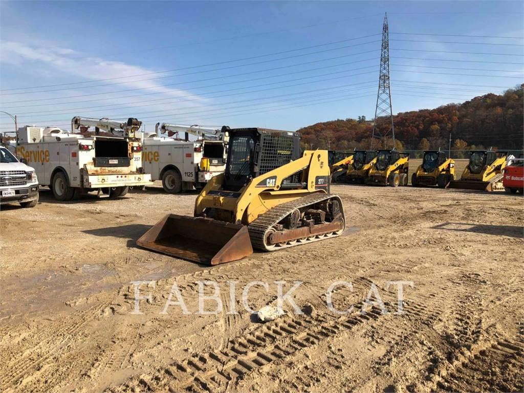 Caterpillar 277、スキッドステアローダー、建設