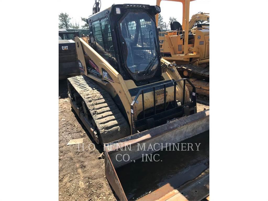 Caterpillar 277B, Skid Steer Loaders, Construction