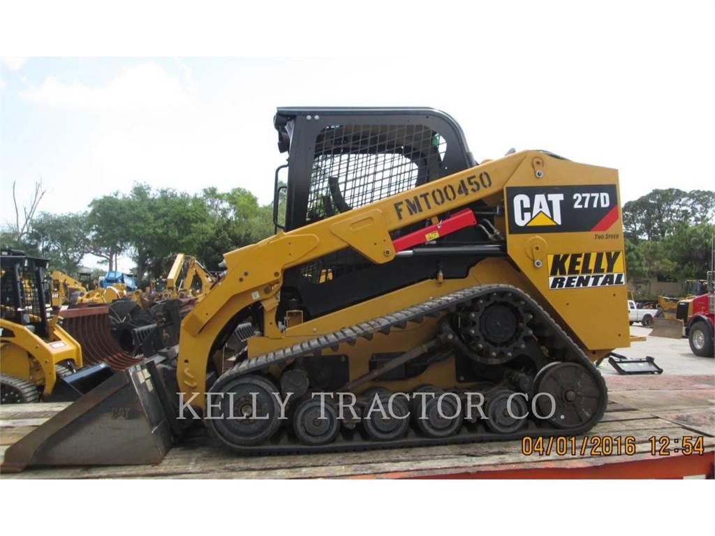 Caterpillar 277D, Chargeuse compacte, Équipement De Construction
