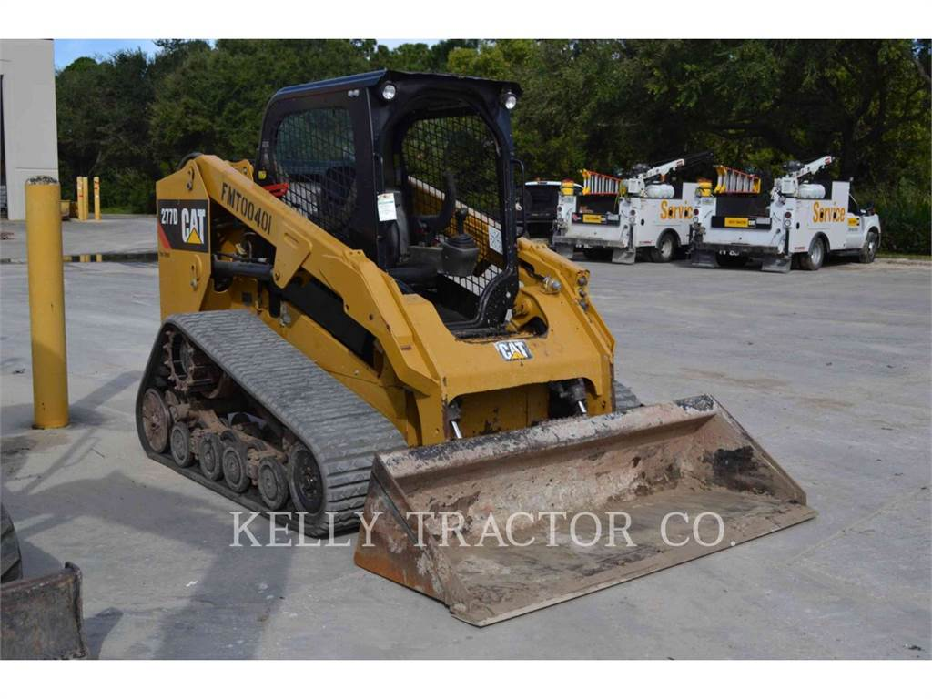 Caterpillar 277D, Kompaktlader, Bau-Und Bergbauausrüstung