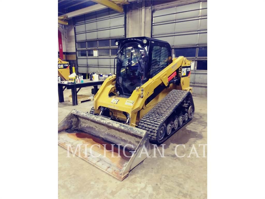 Caterpillar 277D AQ, Mini incarcator, Constructii