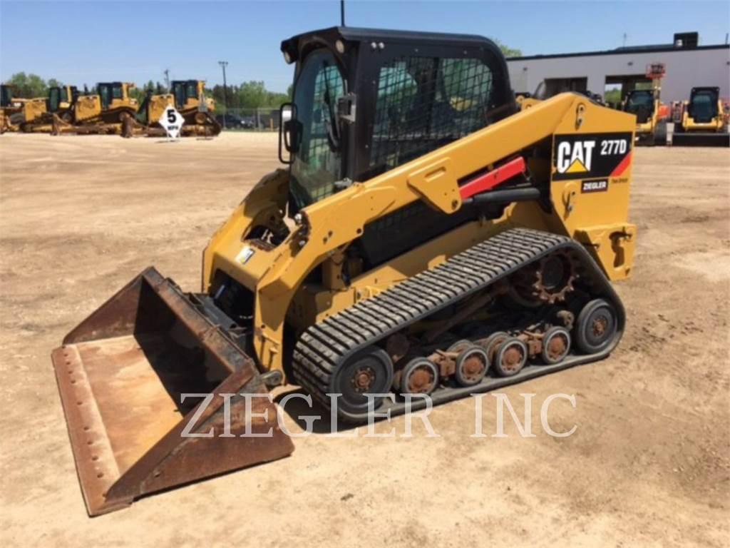 Caterpillar 277DS, Mini ładowarki, Sprzęt budowlany