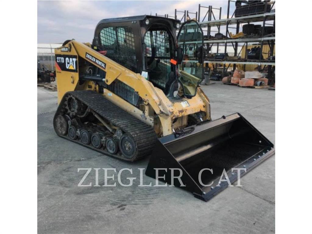 Caterpillar 277DSR, Mini incarcator, Constructii
