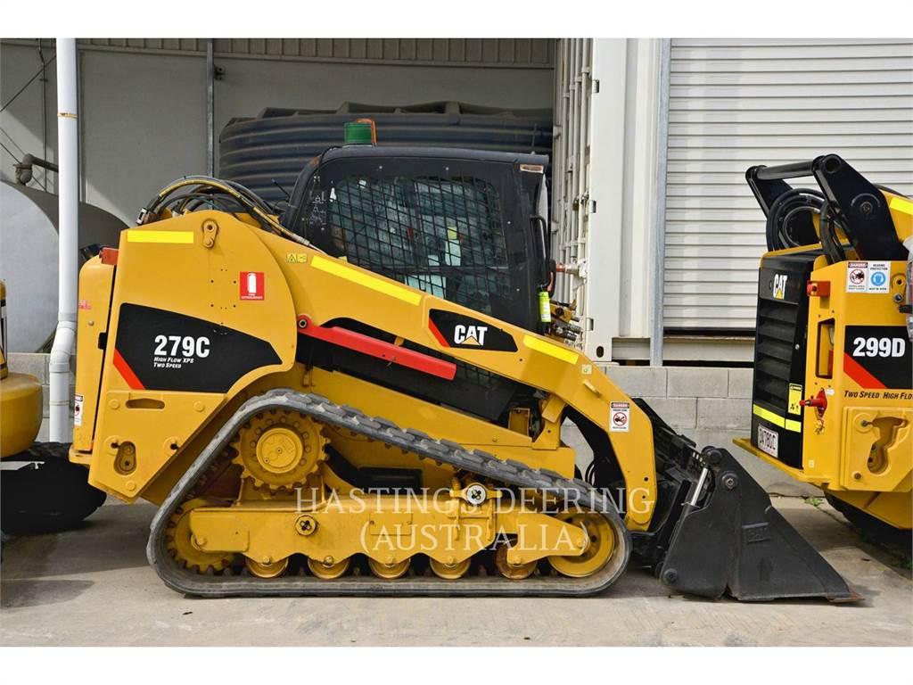 Caterpillar 279C, Minicargadoras, Construcción