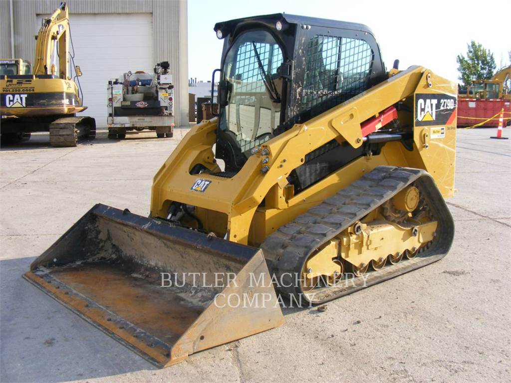 Caterpillar 279D, Mini incarcator, Constructii