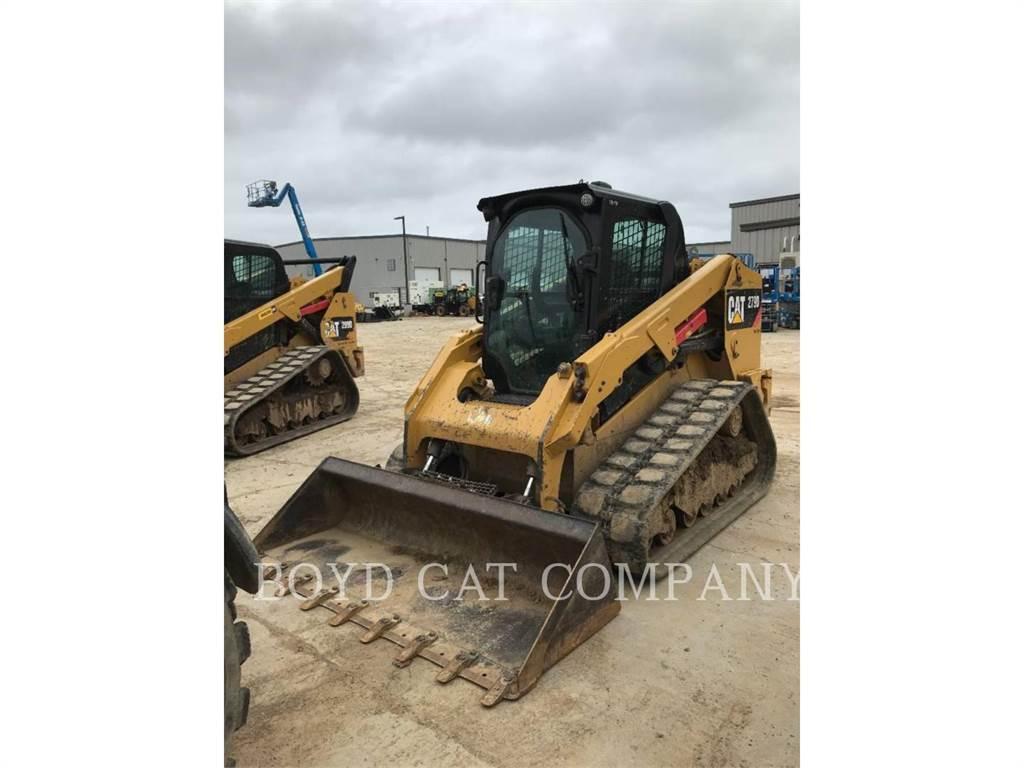 Caterpillar 279D, mulcher, Forestry Equipment