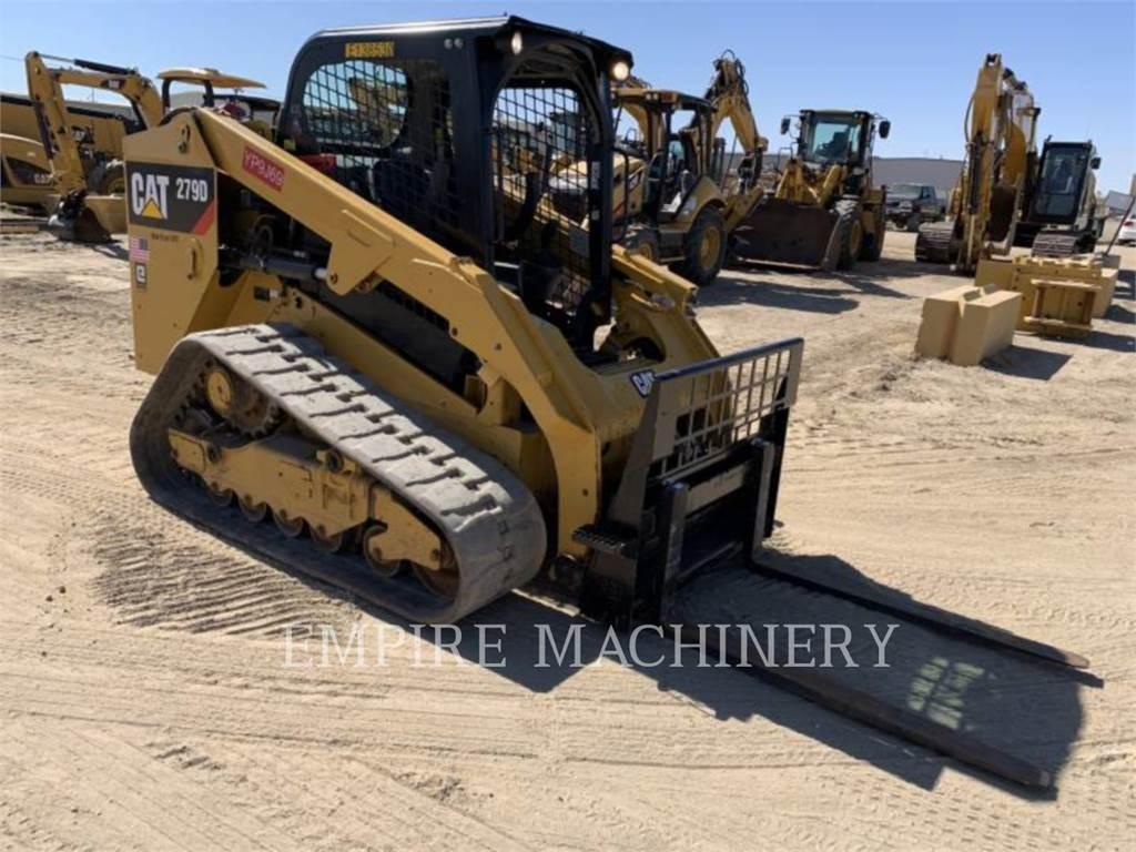 Caterpillar 279D, Minicargadoras, Construcción