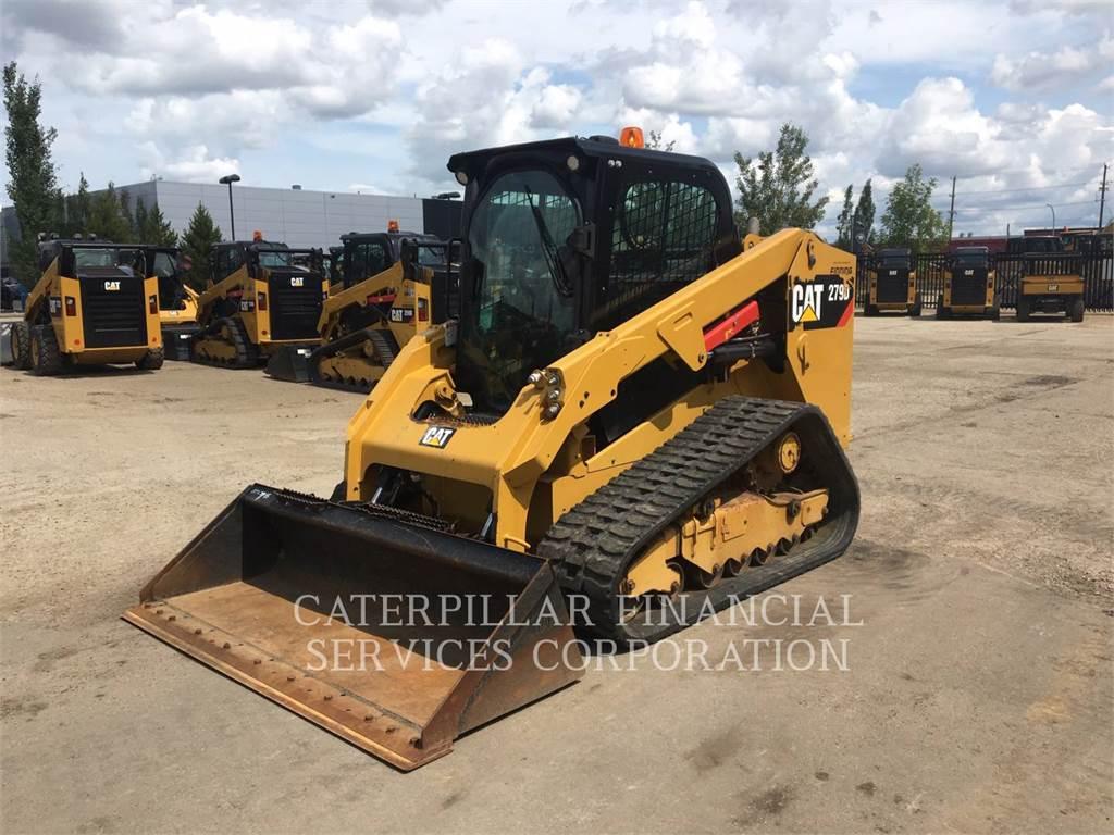 Caterpillar 279D, Мини-погрузчики, Строительное