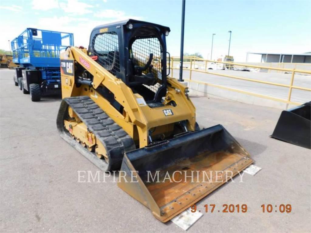 Caterpillar 279D, Carregadoras de direcção deslizante, Equipamentos Construção