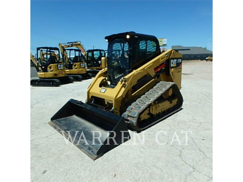 Caterpillar 279D, carregadeira de esteiras, Equipamentos Construção