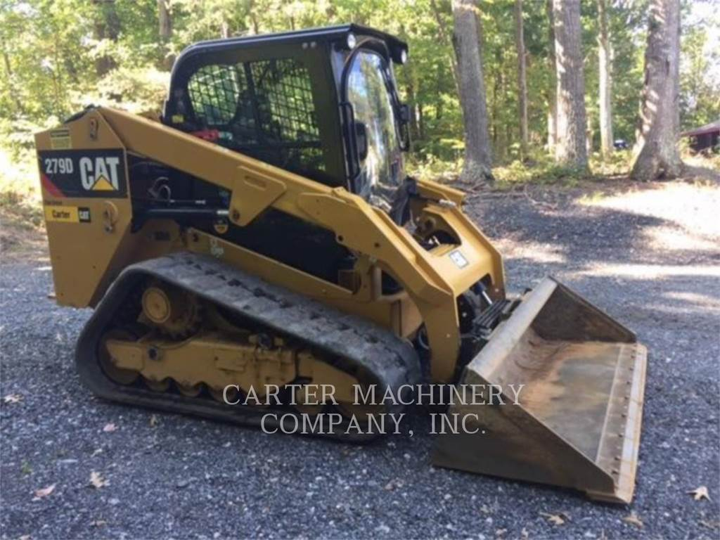 Caterpillar 279D AC, Skid Steer Loaders, Construction