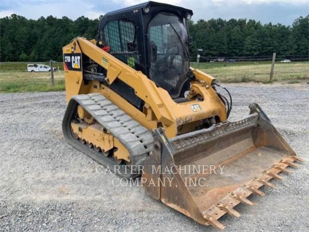 Caterpillar 279D AC, Carregadoras de direcção deslizante, Equipamentos Construção