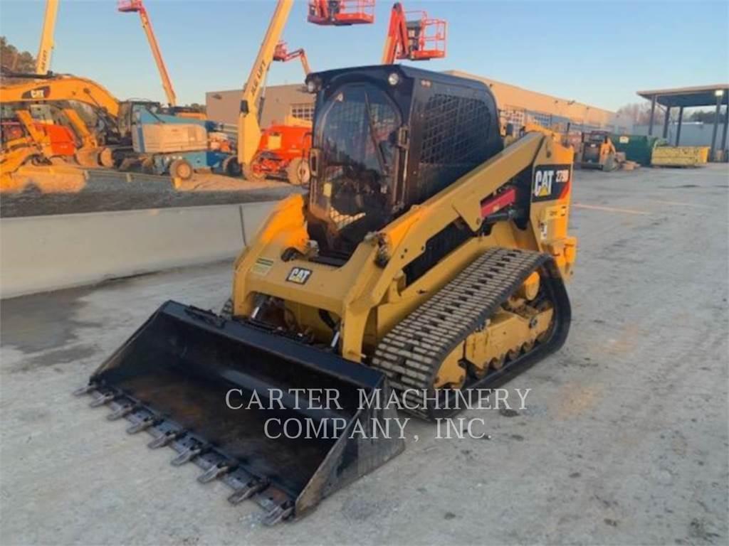 Caterpillar 279D ACB, Skid Steer Loaders, Construction