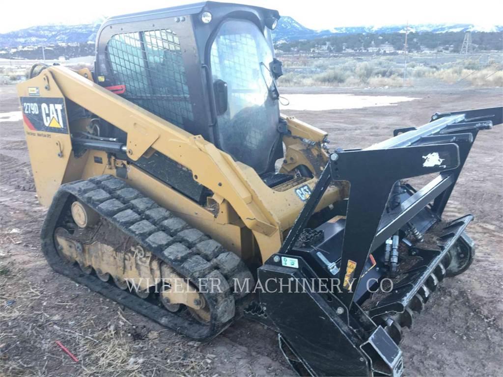 Caterpillar 279D C3 HF, Minicargadoras, Construcción