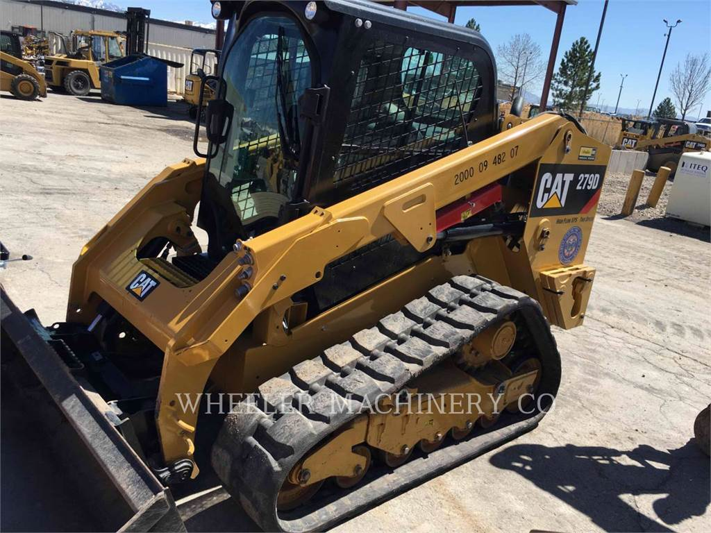 Caterpillar 279D C3 HF, Mini incarcator, Constructii