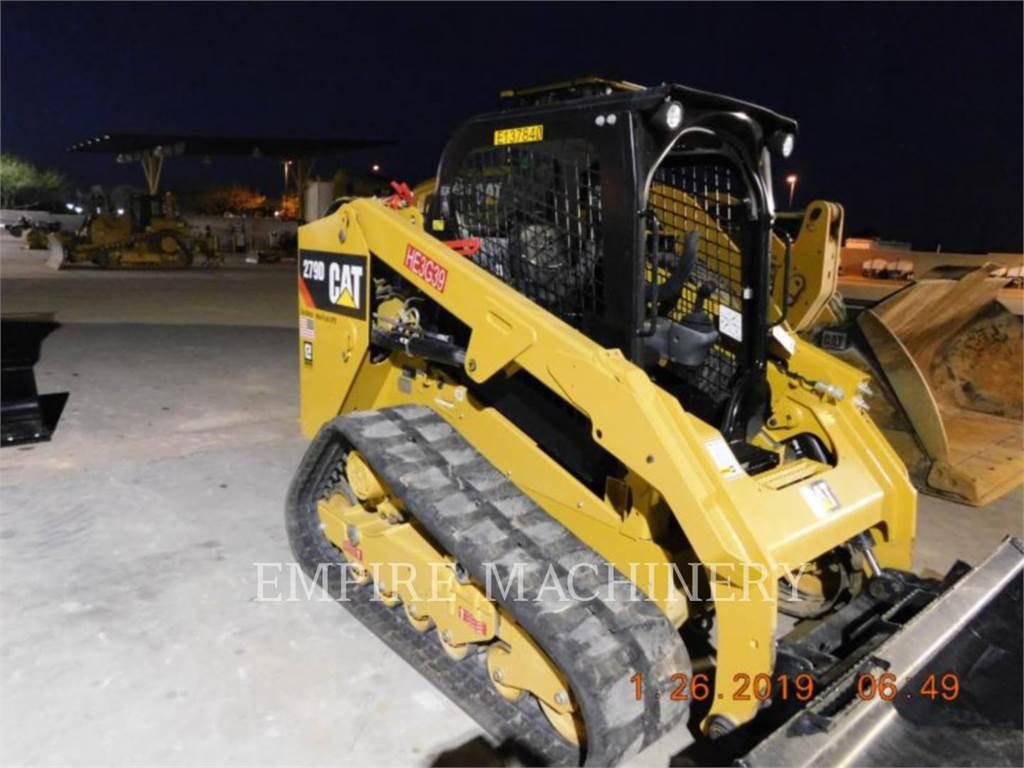 Caterpillar 279D、スキッドステアローダー、建設