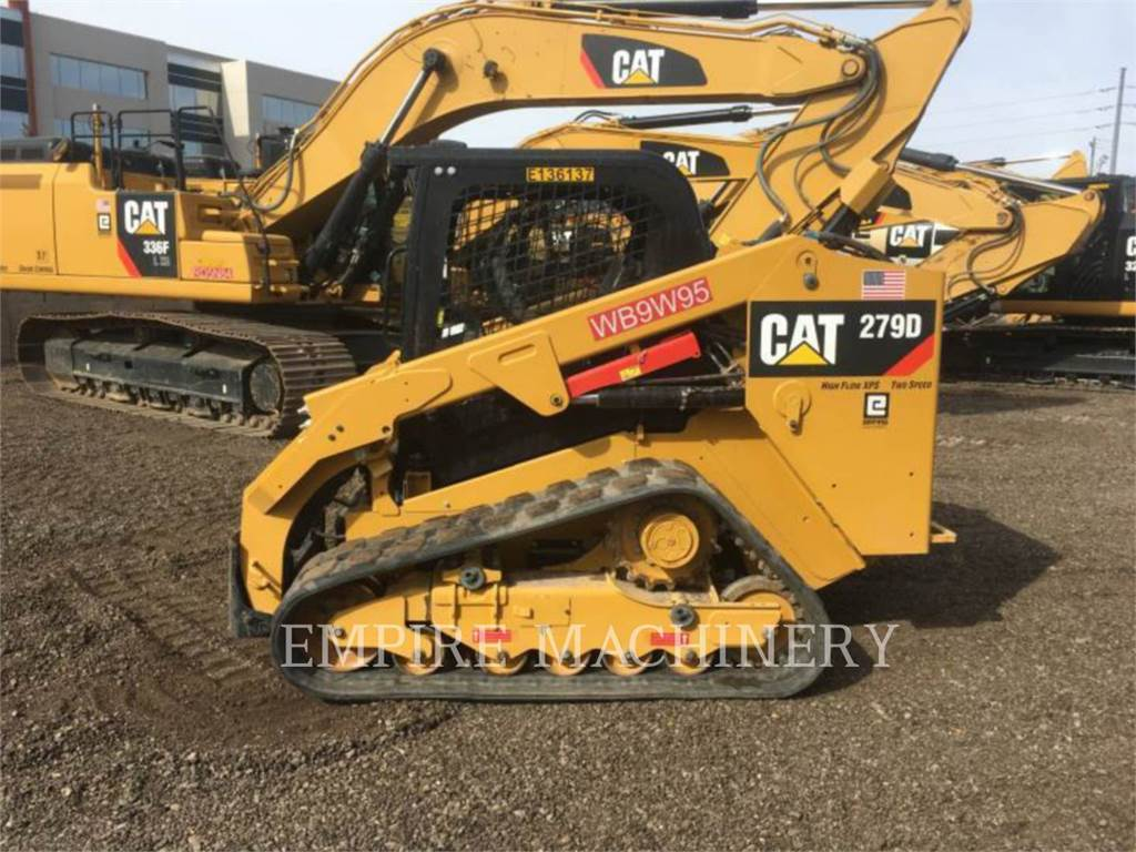 Caterpillar 279D, Chargeuse compacte, Équipement De Construction