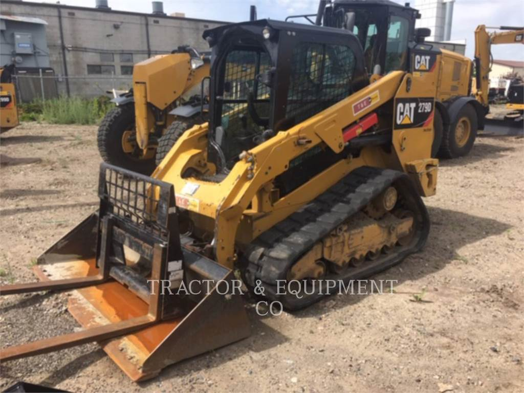 Caterpillar 279D H2CB, Skid Steer Loaders, Construction