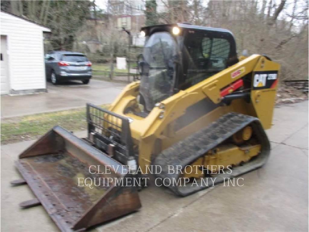Caterpillar 279D HF, Mini incarcator, Constructii