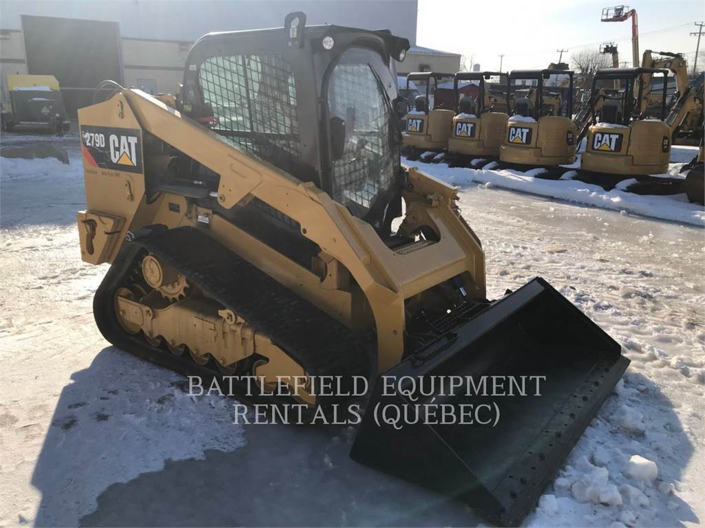 Caterpillar 279D HF XPS, Mini incarcator, Constructii