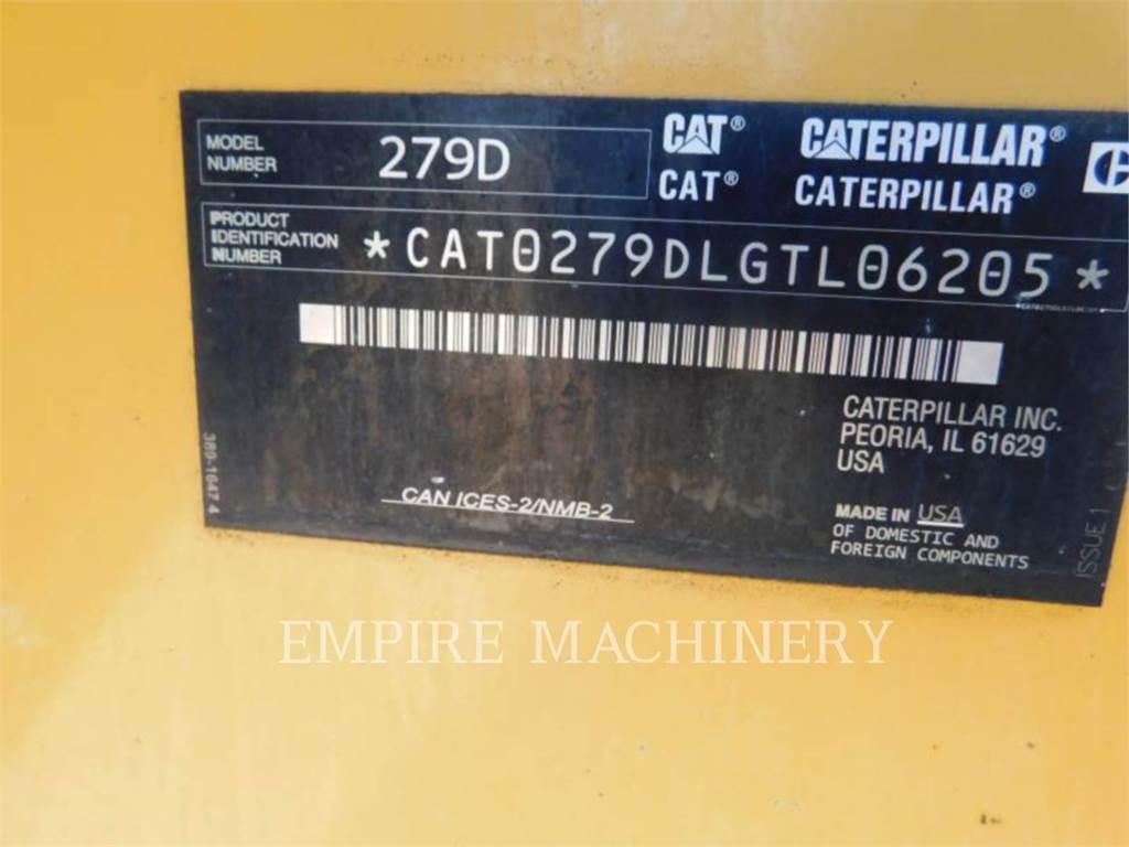 Caterpillar 279D XPS, Mini ładowarki, Sprzęt budowlany