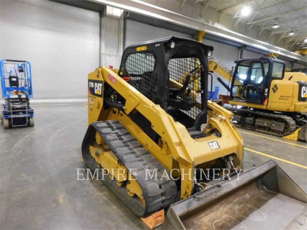 Caterpillar 279D XPS, Carregadoras de direcção deslizante, Equipamentos Construção
