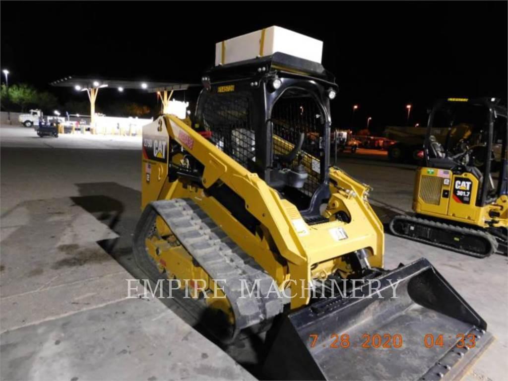Caterpillar 279D XPS, Minicargadoras, Construcción