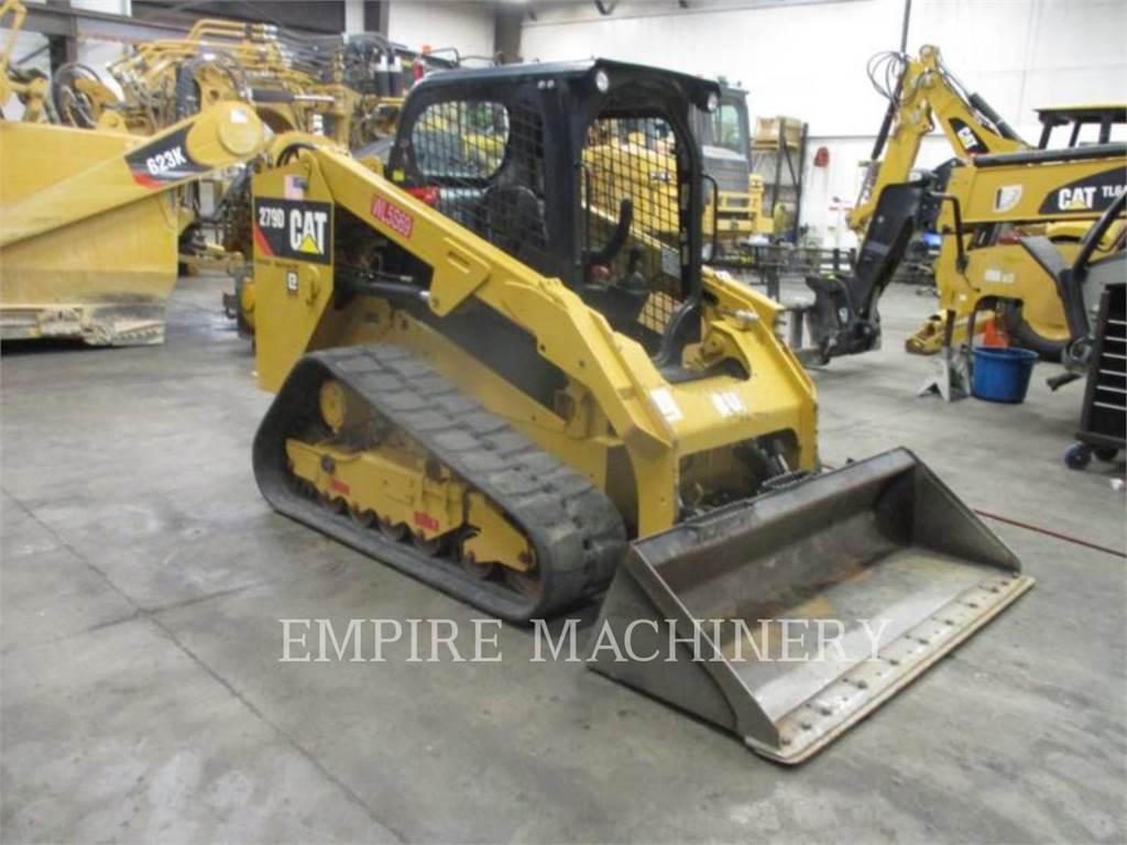 Caterpillar 279D XPS, Mini incarcator, Constructii