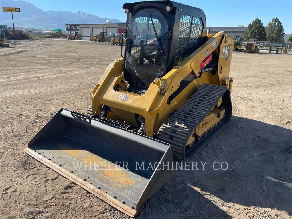 Caterpillar 279D3 C3HF, Skid Steer Loaders, Construction