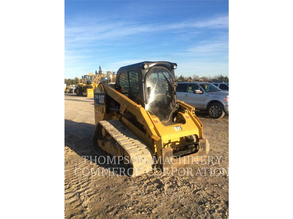 Caterpillar 279DHF, Skid Steer Loaders, Construction